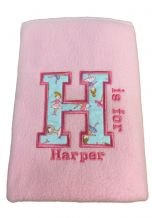PERSONALISED BABIES BLANKET 1